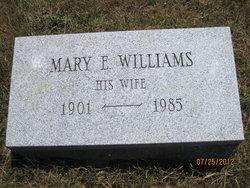 Mary E. <i>Williams</i> Browning