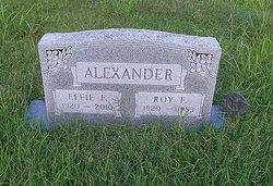 Roy Franklin Alexander, Jr