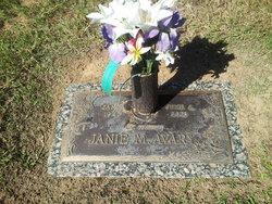 Janie Marie <i>Ragsdale</i> Avary