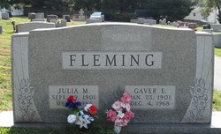 Gaver E. Fleming