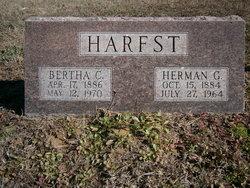 Bertha C <i>Kisler</i> Harfst