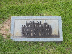 Ernest S McCullough
