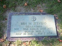 Benjamin M. Ben Stevens