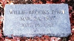 Willie Brooks Ford