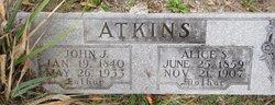 Alice S. <i>Wood</i> Atkins