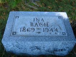 Ina Marvina <i>Hindenach</i> Bach