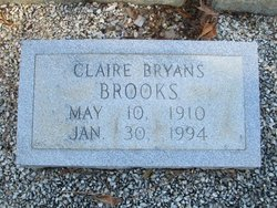 Claire <i>Bryans</i> Brooks