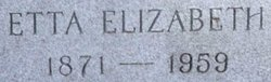 Etta Elizabeth <i>Moore</i> Zachry
