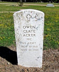 Owen Clate Acker