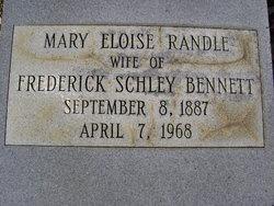 Mary Eloise <i>Randle</i> Bennett