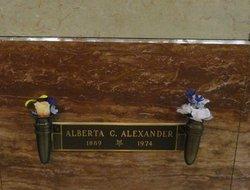 Alberta C. <i>Tucker</i> Alexander