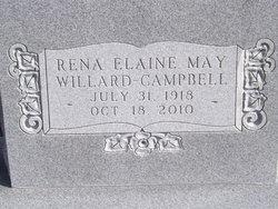 Rena E. <i>May</i> Campbell