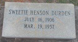 Sweetie <i>Henson</i> Durden