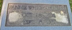 Frances Eliza Fannie <i>Whigham</i> Beall
