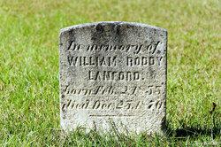 William Roddy Lanford
