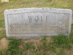 Emma Barbara Agnes <i>Lehn</i> Wolf