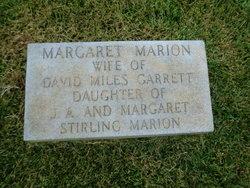 Margaret <i>Marion</i> Garrett