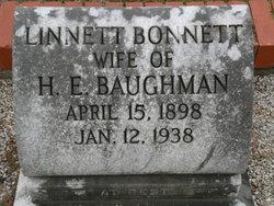Linnett <i>Bonnett</i> Baughman