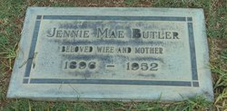 Jennie Mae <i>Young</i> Butler