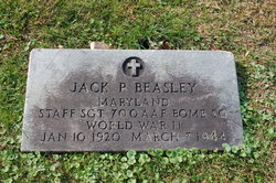 Sgt Jack P Beasley