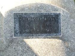 Burgess George Davis