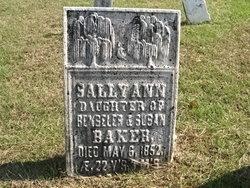 Sally Ann Baker