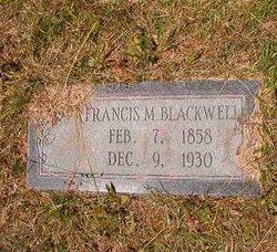Francis Marion Frank Blackwell