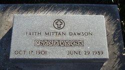 Faith <i>Mittan</i> Dawson