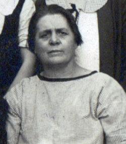 Frances D. Fannie <i>Hallman</i> Barrett