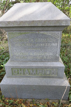 Edward H Champion