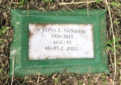 Wyona Louise Nonie <i>Chestnut</i> Sanasac