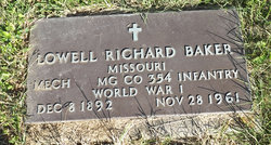 Lowell Richard Baker