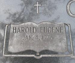 Rev Harold Eugene Carter