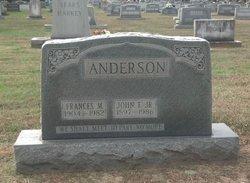 Frances M Anderson