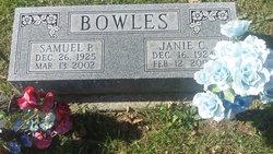 Janie C Bowles