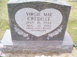 Virgie Mae <i>Hillis</i> Credille