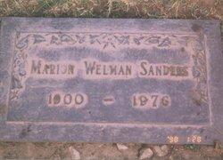 Marian Frances <i>Bailey</i> Sanders