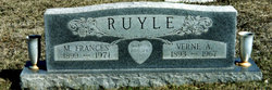 Martha Frances <i>Wheeler</i> Ruyle