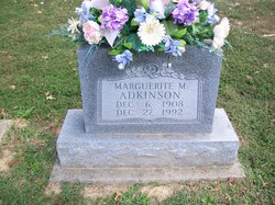 Marguerite M <i>Hunley</i> Adkinson