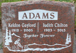 Judith Freedom Judy <i>Chilton</i> Adams