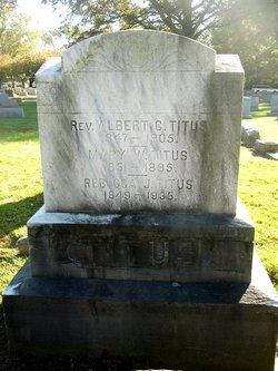 Rebecca <i>Johnston</i> Titus