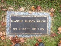 Mrs Blanche Lavenia <i>Allison</i> Wright