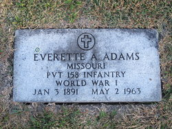 Everette Alphonso Adams
