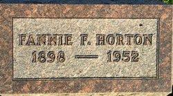 Fannie Fay <i>Fox</i> Horton