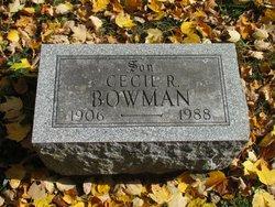 Cecil Bowman