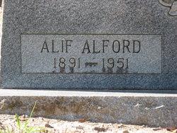 Alif <i>Alford</i> Arthur