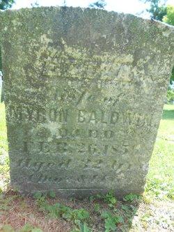 Eliza C. <i>Slocum</i> Baldwin