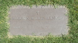 Marion Marie Arnold