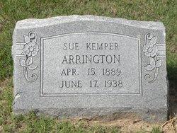 Sue <i>Kemper</i> Arrington