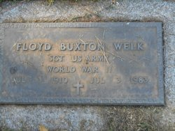 Floyd Buxton Welk